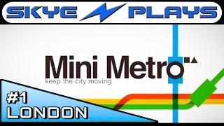 Mini Metro #1 ►London 2000+ Strategy and Tips◀ [1080p 60 FPS] Gameplay PC Mac IOS Android