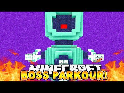 Minecraft - EPIC BOSS PARKOUR! - w/Preston & Lachlan!