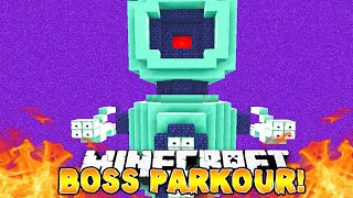 Minecraft - EPIC BOSS PARKOUR! - w/Preston & Lachlan!
