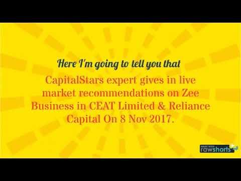 Capitalstars Expert Market Calls on Zee Business