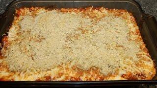 Making Chicken Parmesan Casserole  Easy Recipe!