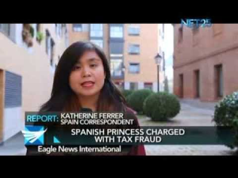 Spanish Princess charged with tax fraud - Katherine Ferrer reports from Spain