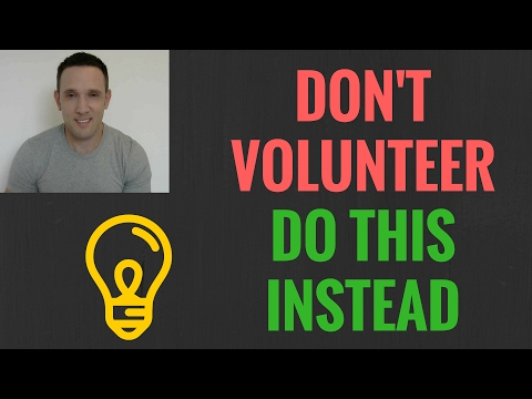 Don't Volunteer in ESL. Do this instead. | Charity and Giving to Others