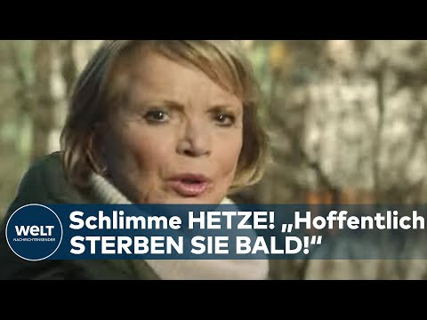 WEGEN CORONA-IMPFKAMPAGNE: Schlimme Hetze gegen Schauspielerin Uschi Glas I WELT News