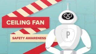 Panasonic Ceiling Fan Safety Awareness