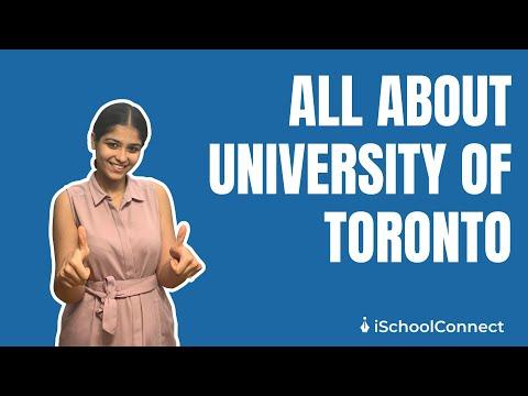 University Of Toronto | Ranks, Tuition Fees, Campus Life | ISchoolConnect