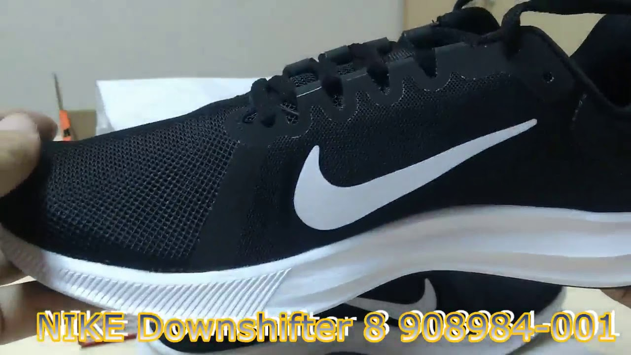 buy online 204e1 3a7b7 Unboxing Review sneakers NIKE Downshifter 8 908984-001