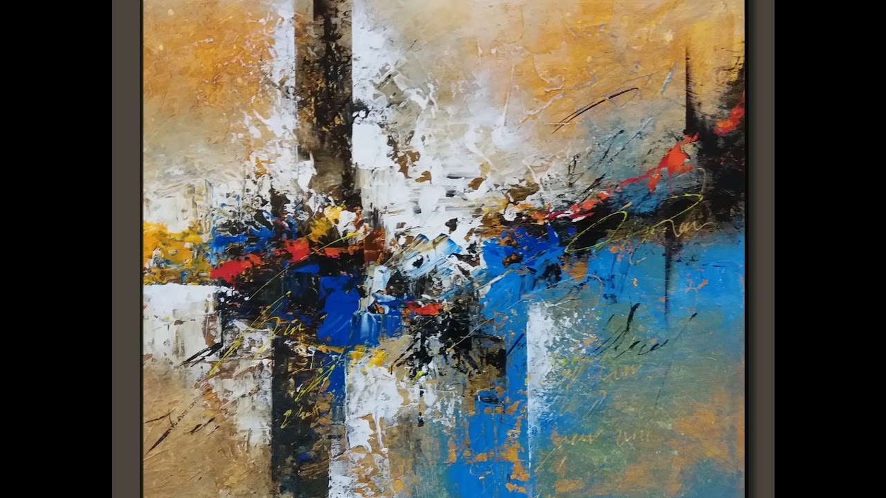 Abstract painting / Textured /Acrylic abstract ... on Modern Painting Ideas  id=36578