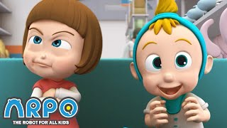 Arpo the Robot | SALLY AND DANIEL +MORE FULL EPISODES | Compilation | Funny Cartoons for Kids