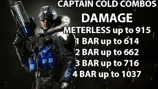 Injustice 2: Captain Cold combo guide. Beginner/advanced. Damage up to 1038. Captain Swag..