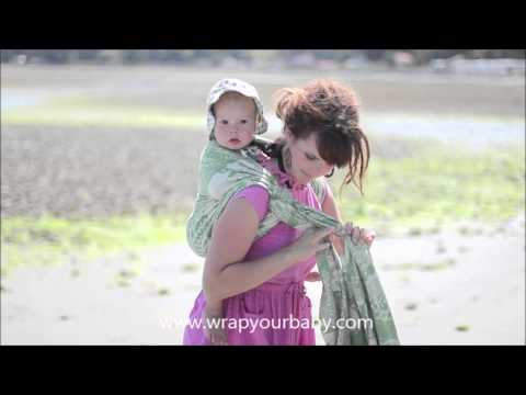 Rucksack Back Carry Variations From Wrap Your Baby Youtube