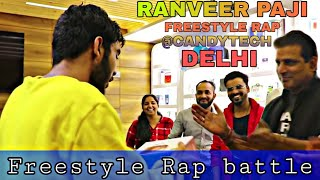 FREESTYLE RAP BATTLE WITH MYSELF | CANDYTECH| DELHI | EDITION