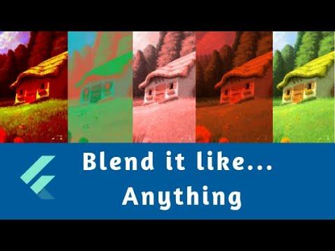 Flutter: Blend Modes (Demo)