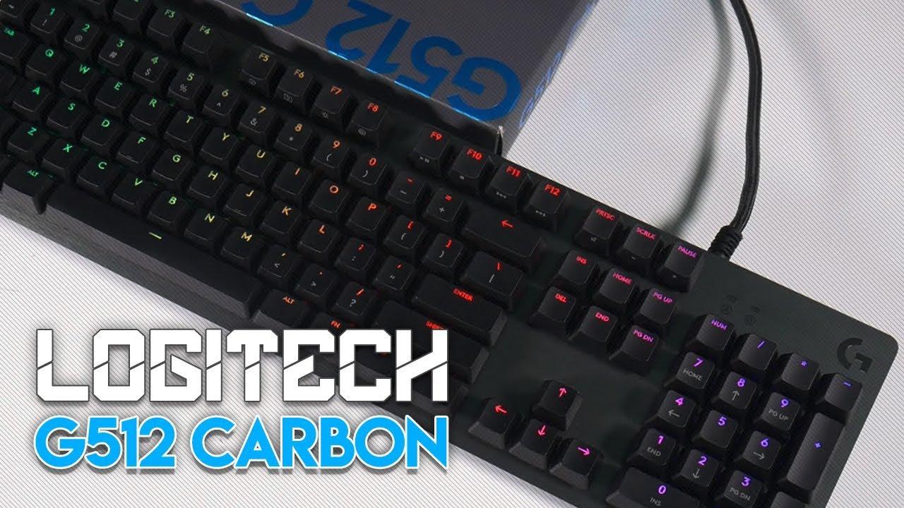 Keyboard ini akan membuat anda TERKEJOET! : Logitech G512 Carbon