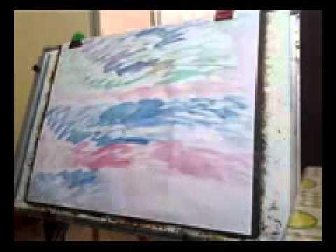 Sai Art Speed Painting Modern Plein Air