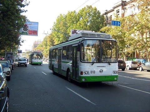 Trolleybuses In Yerevan & Երևանի տրոլեյբուսները / Part 1