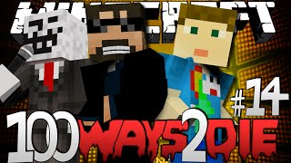 Minecraft 100 Ways To Die | Cat Food Eating Challenge [14]
