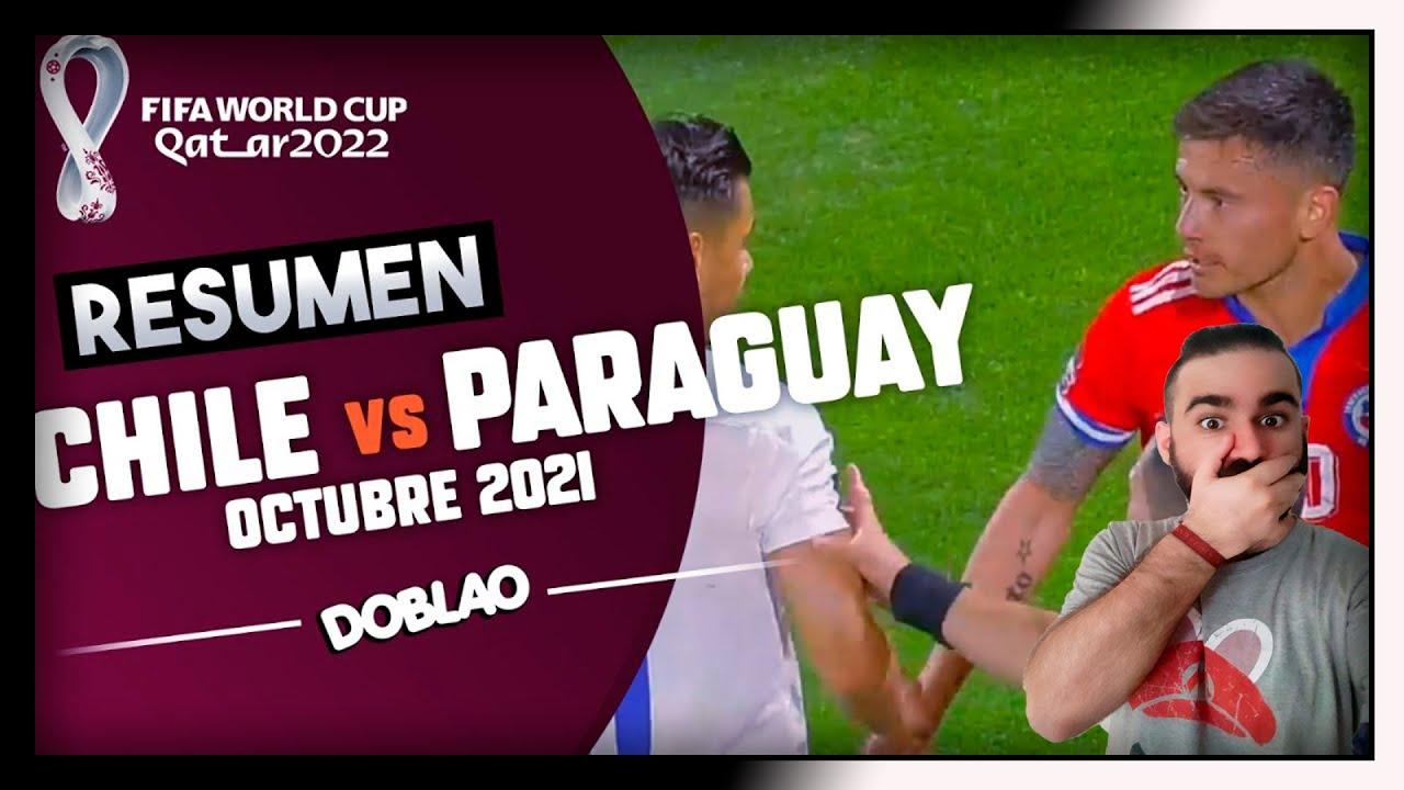 ESPAÑOL REACCIONA a DOBLAO CHILE VS PARAGUAY