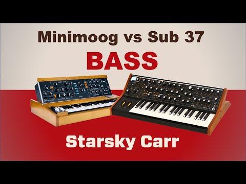 Minimoog Model D vs Sub 37: Bass