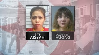 Were female suspects trained to attack Kim Jong Nam?