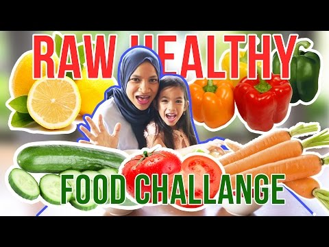 RAW Healthy Food Challenge Mother VS Daughter