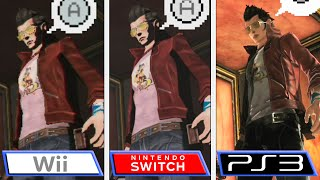 No More Heroes | Switch - PS3 - Wii | Graphics & Framerate Comparison