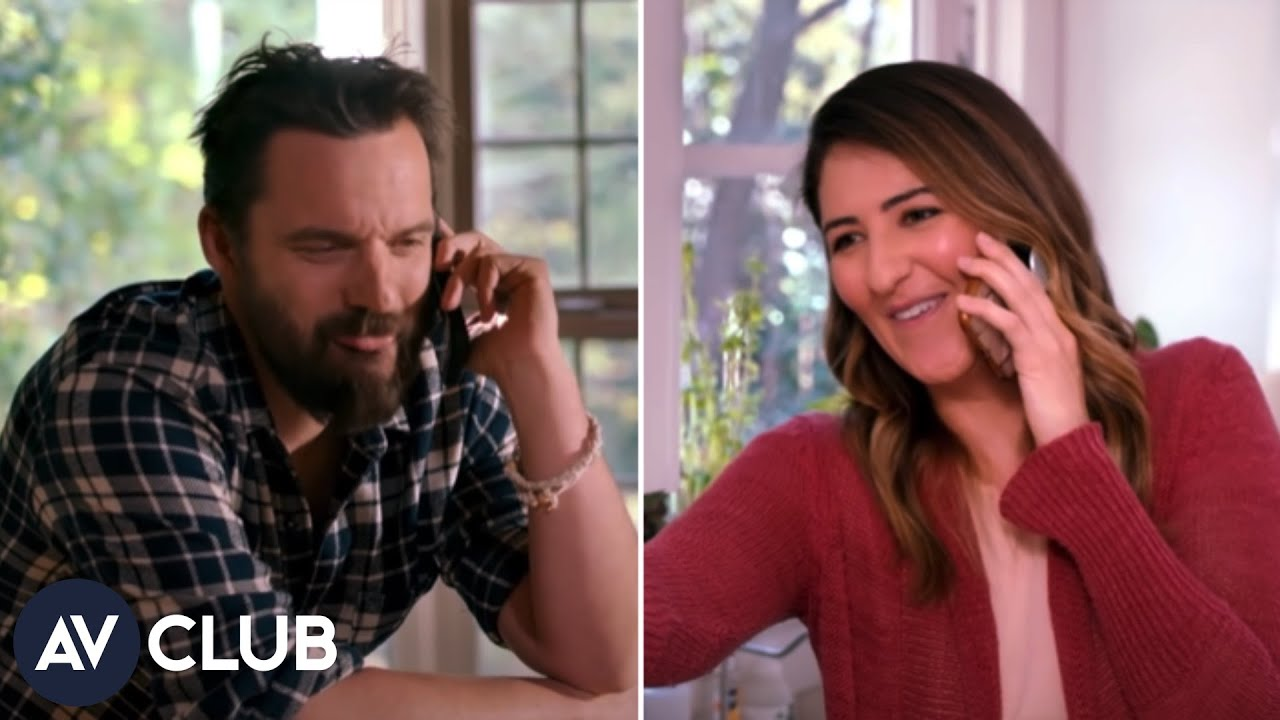 How Jake Johnson and D'arcy Carden found their sizzling phone chemistry for Ride The Eagle