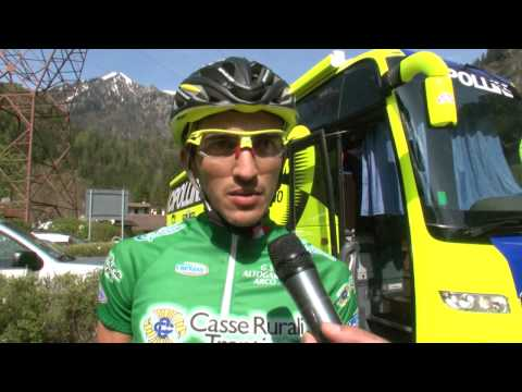 Giro del Trentino 2014: Jonathan Monsalve at stage4 start