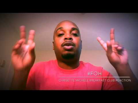 The Breakfast Club Chrisette Michele Interview Reaction - #FOH