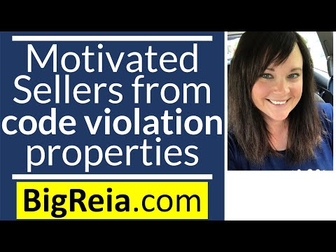 How to get motivated sellers lead from code violation properties 11 ways, I rule Indiana lol.