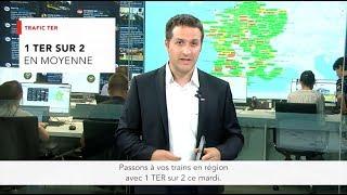 Grève Nationale | Point InfoTrafic #SNCF du mardi 12 juin
