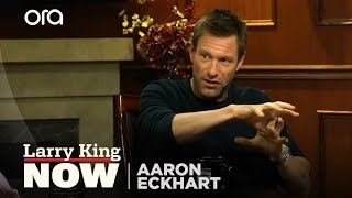 "Aaron Eckhart On Working With Heath Ledger In ""The Dark Knight"" 
