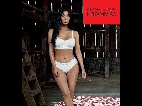 d36e120bc8 Kardashian and Jenner Calvin Klein campaign - YouTube