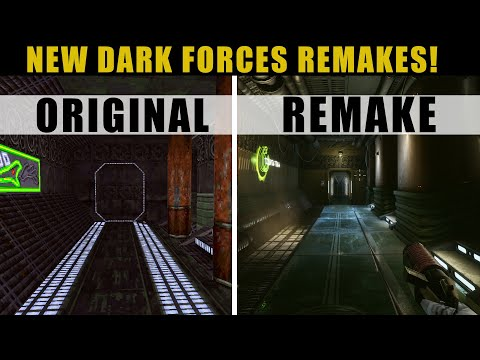 You NEED to see Dark Forces with 2021 Graphics -- New Remakes!  