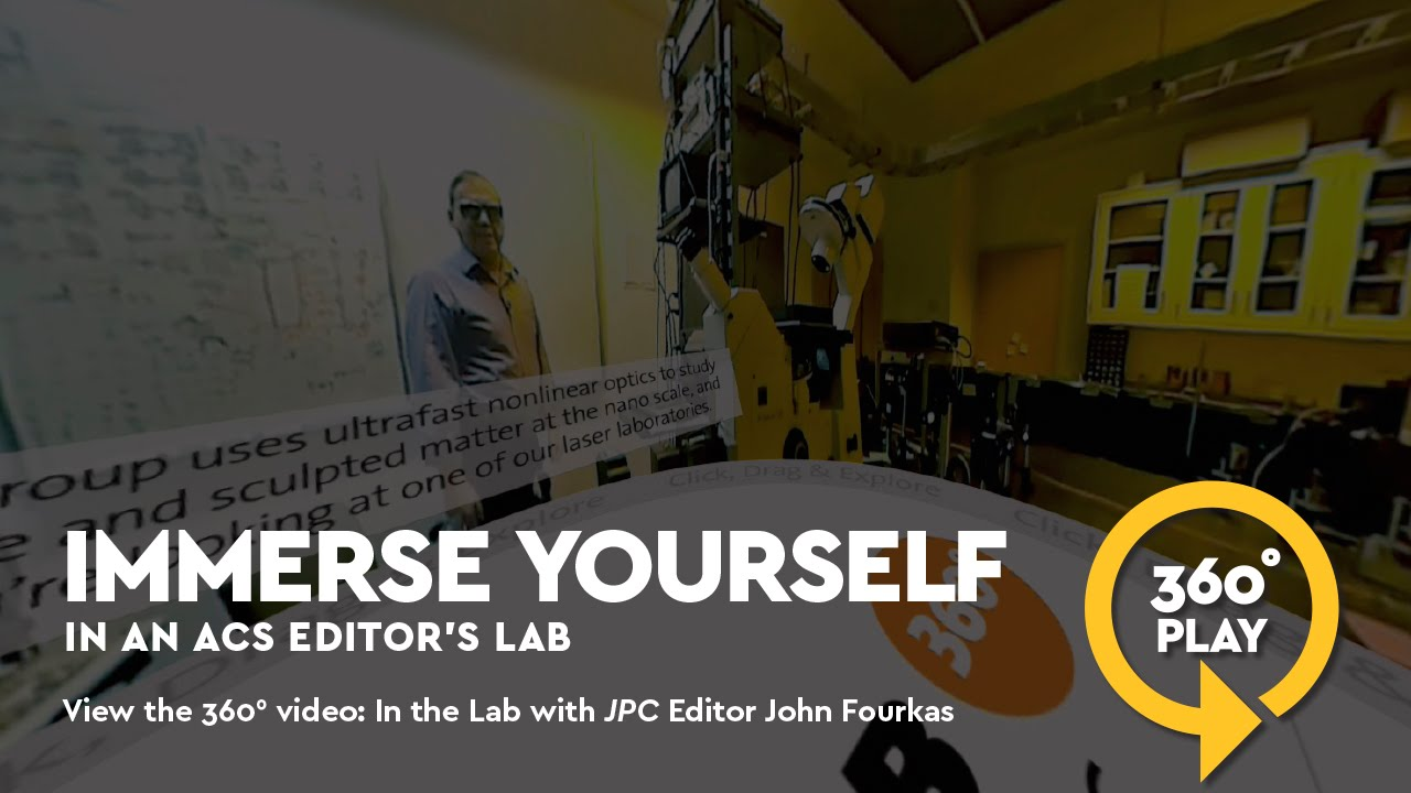 52550ed4d0e64 Take a 360° Lab Tour with The Journal of Physical Chemistry s John T.  Fourkas