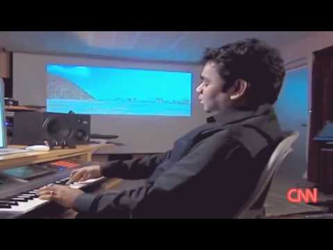 AR Rahman Live Composing at his Studio | Rare Video