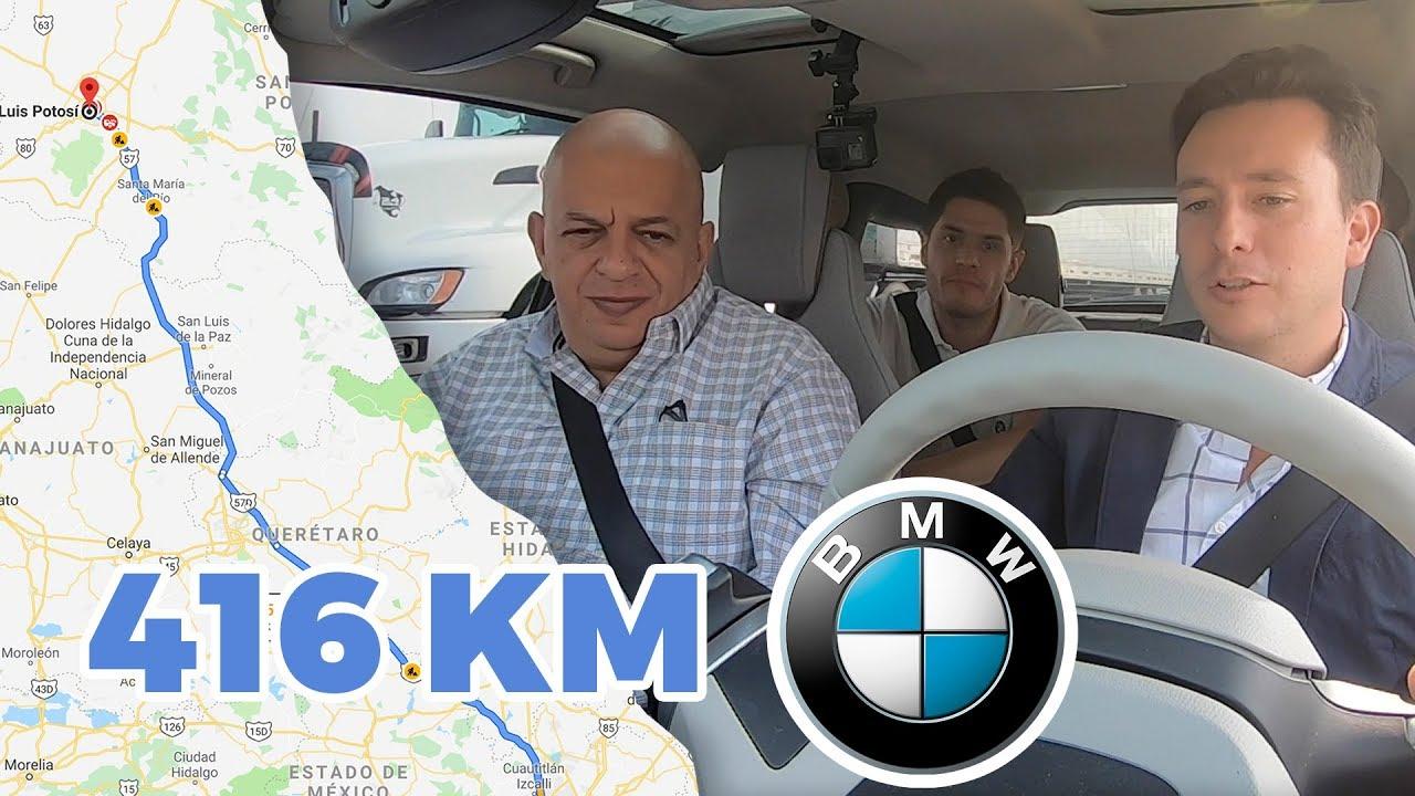 5 Horas en un BMW eléctrico