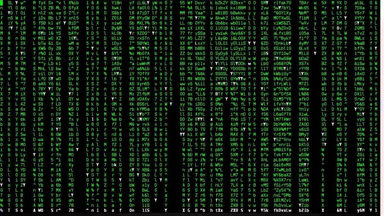 Matrix Falling Code Wallpaper Joseph Soares Com Efeito Matrix Terminal Linux Youtube