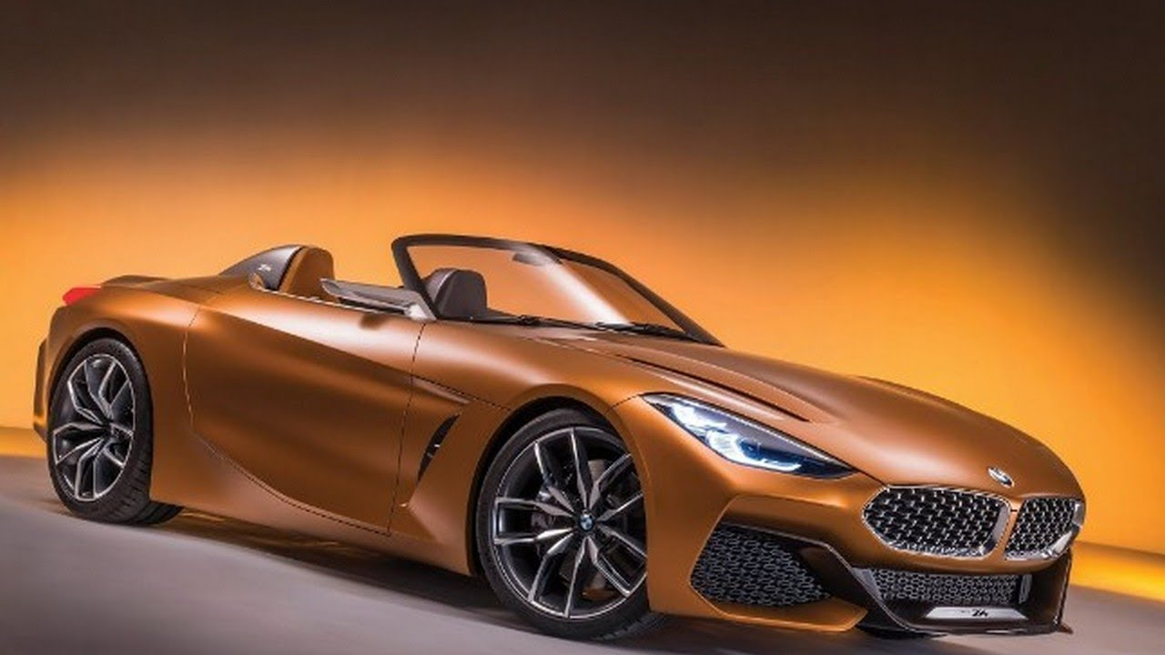 NEW BMW Z Previewed By Bold Concept At Pebble Beach By - Orange beach car show 2018