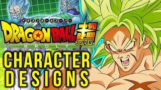 Broly & Paragus CHARACTER DESIGN ANALYSIS! Dragon Ball Super Movie: Broly