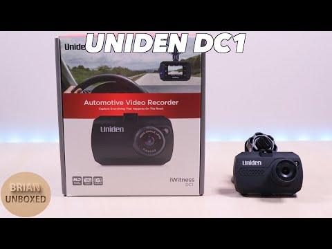 A Budget Dash Cam - Uniden IWitness DC1