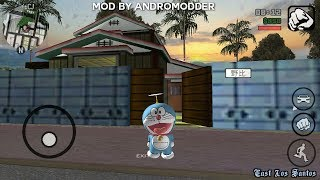[15 Mb] Gta SA: Doraemon Realistic Mod with House for ANDROID {by ANDROMODDER}