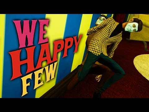 WAR ON FUN | We Happy Few: Funny Moments (Gameplay Montage) |