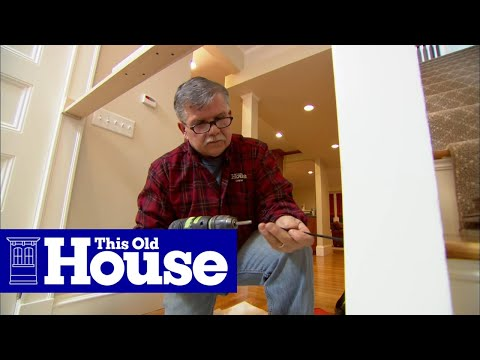 How to Repair a Loose Newel Post - This Old House