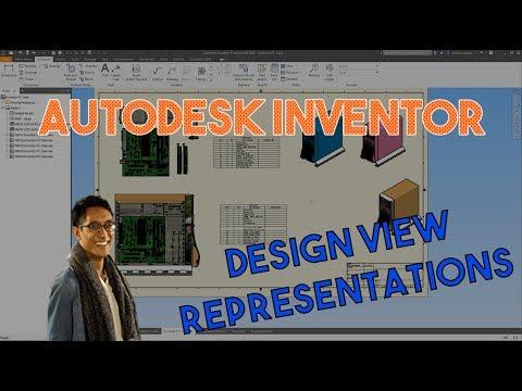 Design Views in Inventor   Autodesk Virtual Academy