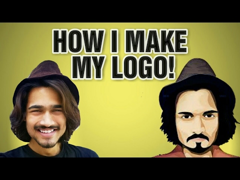 Give Your Image Cartoon Effect How To Make Cartoon Logo Picsart Techpanti Youtube