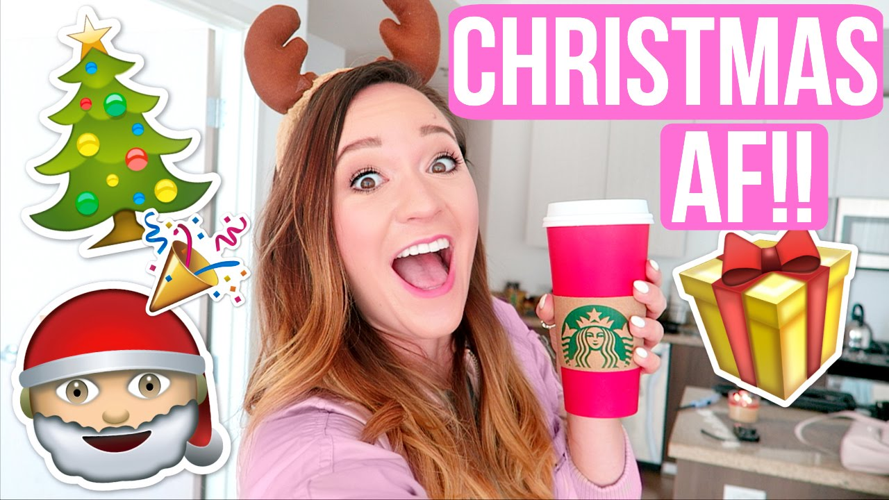 WHEN YOU'RE CHRISTMAS AF!!! - YouTube