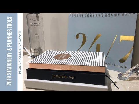 2019 Stationery, Planner And Organisation Tools (Plus A Kikki.K Give Away)