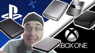 TUDO SOBRE HD EXTERNO PS4 e XBOX ONE !
