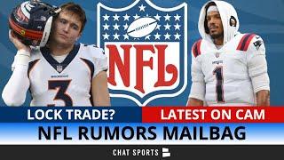 NFL Rumors Mailbag Drew Lock Trade Cam Newton Latest Stephon Gilmore Injury Week 1 Predictions